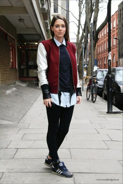 How to Wear Baseball Jacket for Women: Best Outfit Ideas - FMag.com