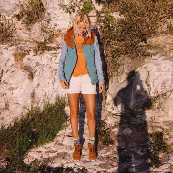 best hiking boots outfit idea