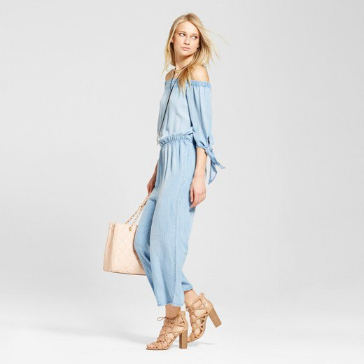 7f600939e7 15 Beautiful Ways on How to Wear Chambray Jumpsuit - FMag.com