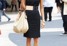 best black sheath dress outfit