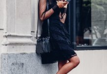 best studded heels outfits