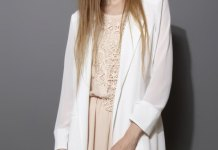 best chiffon blazer outfit ideas