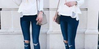 best peplum top outfit ideas