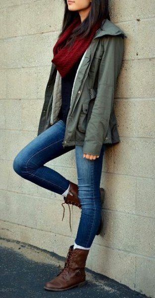 What To Wear With Brown Combat Boots