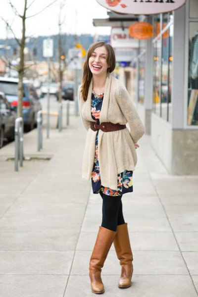 15 Amazing Outfit Ideas on How to Wear Belted Cardigan