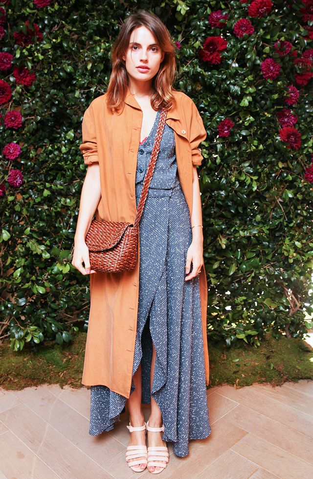 duster jacket brown