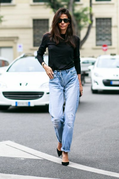What to Wear with Mom Jeans 15 Best Outfit Ideas , FMag.com