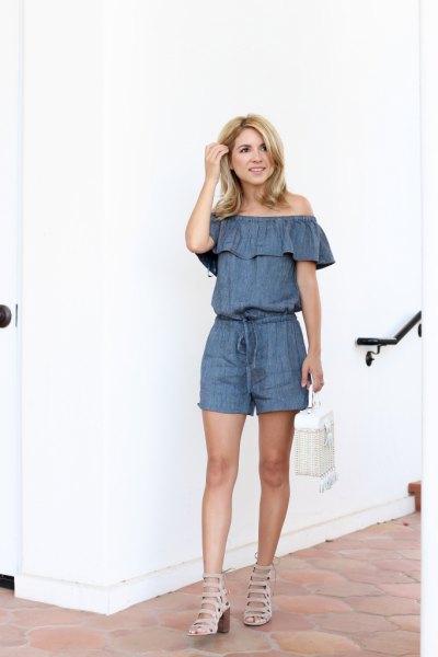 944e10686a How to Wear Denim Romper  15 Amazing Outfit Ideas - FMag.com
