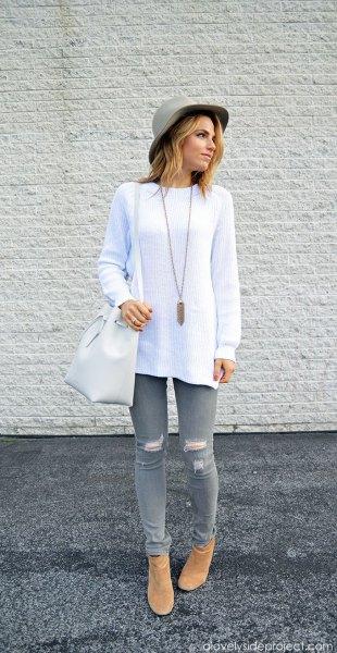 Womens Mustard Skinny Jeans