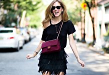 best black fringe dress outfits