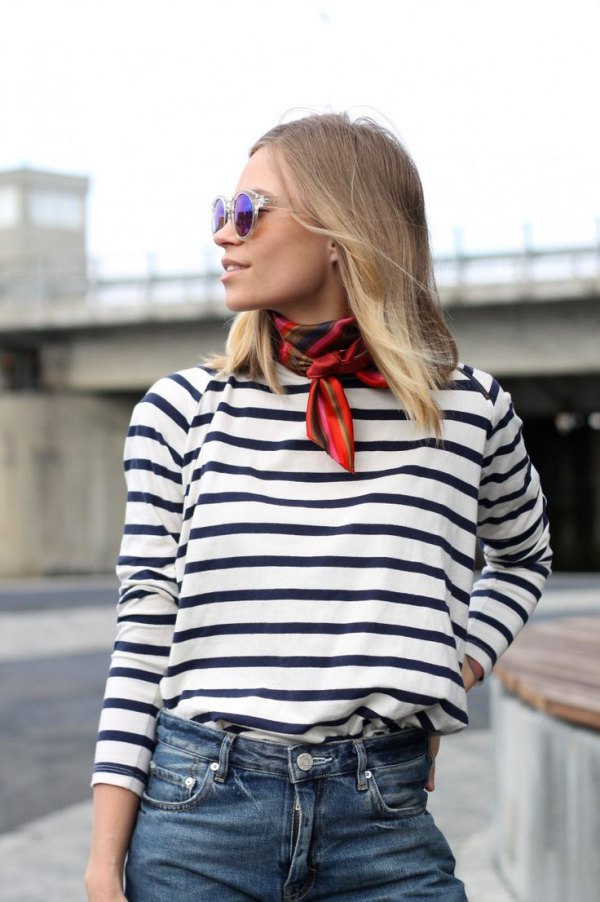 outfit ideas Scarf