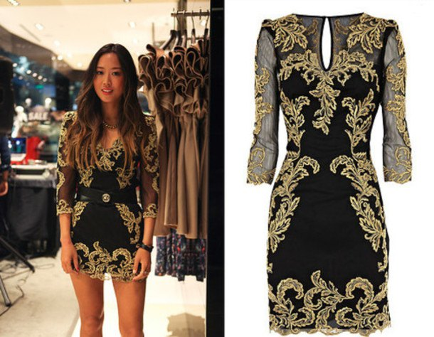 How To Wear Black And Gold Dress: 15 Top Outfit Ideas