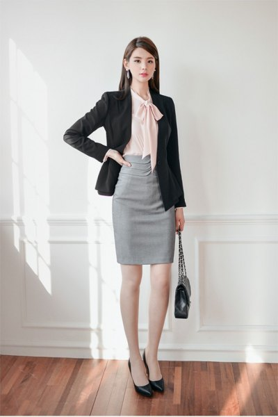 How To Wear Bow Blouse 16 Amazing Ladylike Outfits - FMag.com