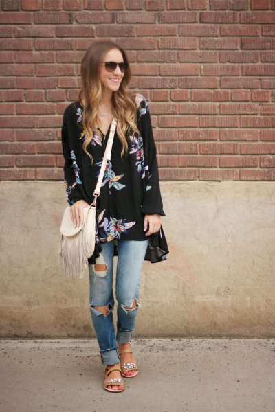 How To Wear Tunic Dress With Jeans 15 Outfit Ideas Fmag Com