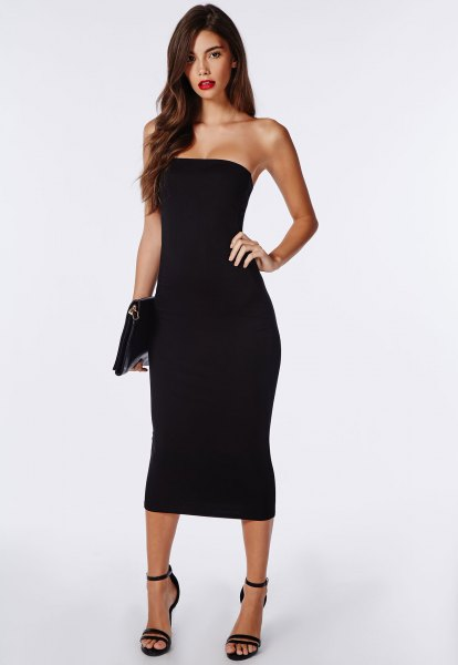 How To Style Black Tube Dress In 15 Amazing Ways Fmag Com