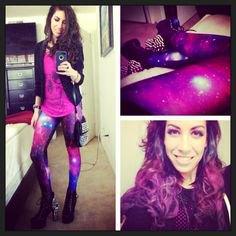 pink t shirt black blazer