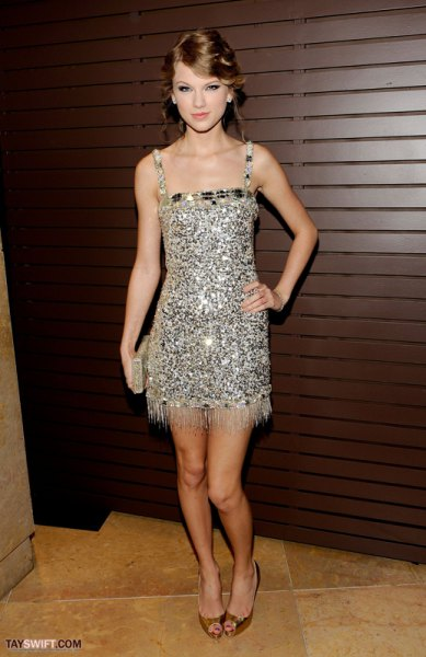 silver sequin mini dress with fringe