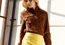 best corduroy shirt outfits for women
