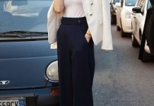 best wide leg dress pants outfits