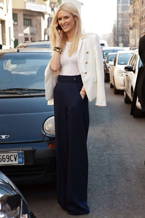 best wide leg dress pants outfits