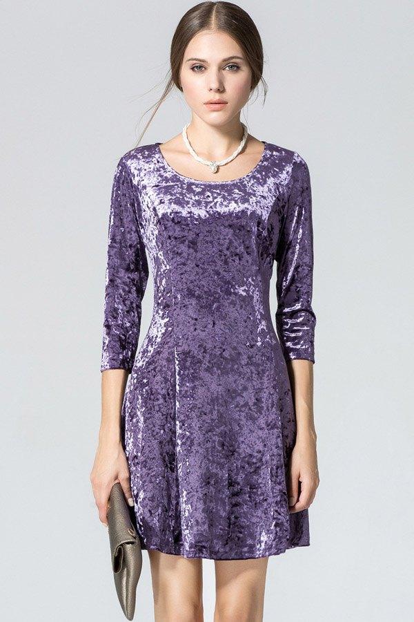 15 Super Chic Three-Quarter Sleeve Dress Outfits - FMag.com