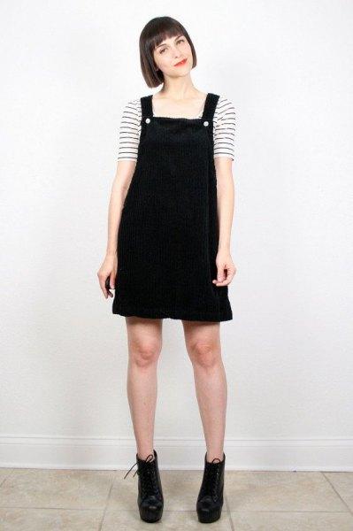 c180f018e 15 Adorable Corduroy Overall Dress Outfit Ideas - FMag.com