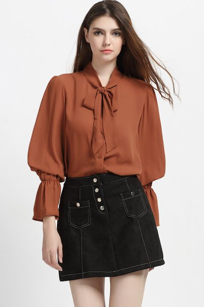 best puff sleeve blouse outfit ideas