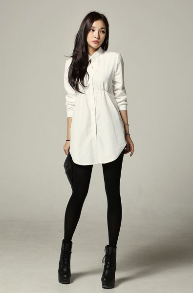 Long Blouse To Wear With Leggings