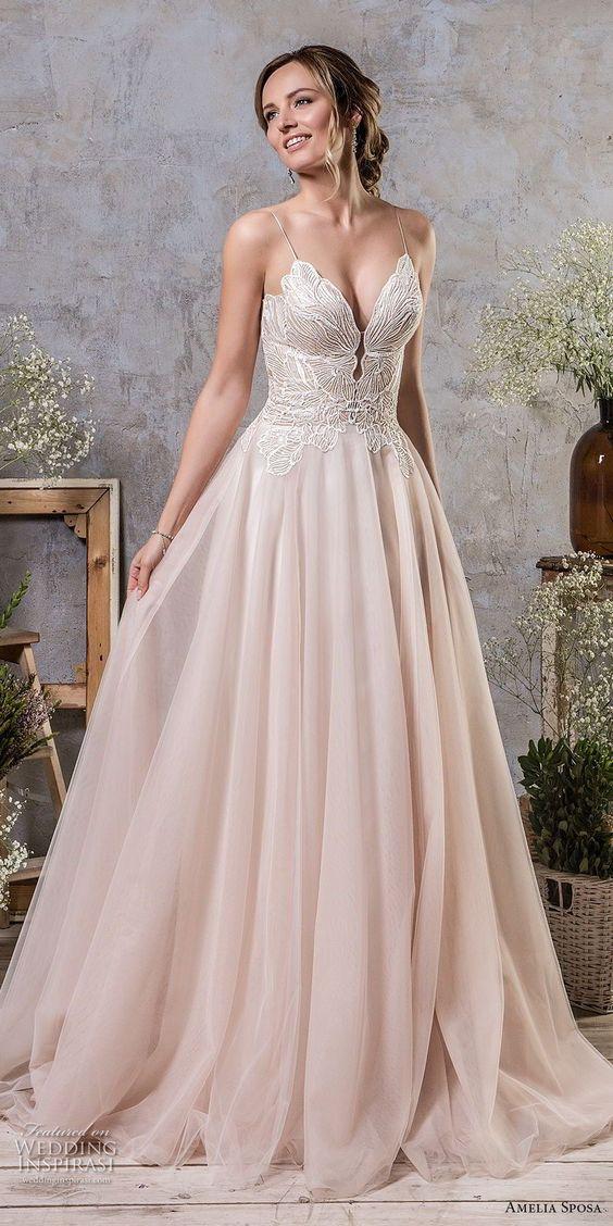 white corset dress wedding