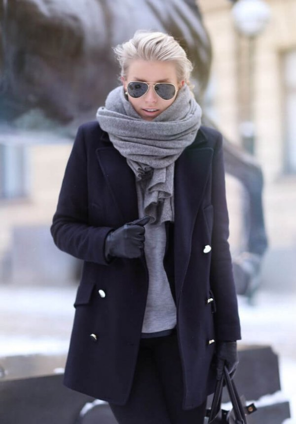 eecb408ee794b How to Wear Cashmere Scarf: Top 16 Outfit Ideas for Women - FMag.com