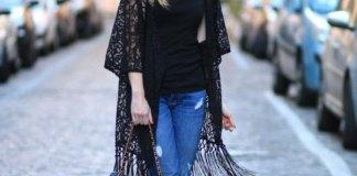 best fringe kimono outfits