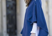 best wool poncho outfit ideas
