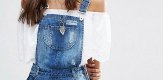 best denim overall shorts outfit ideas