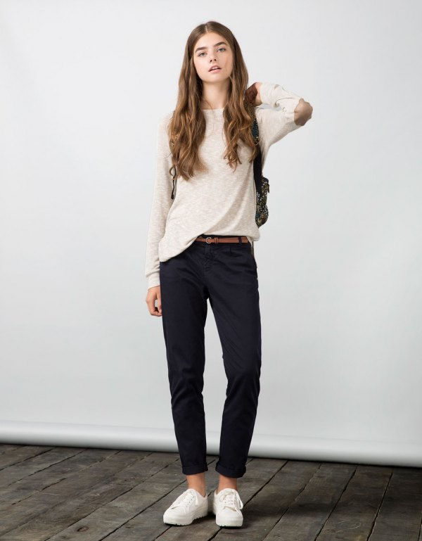 best elbow patch sweater outfit ideas