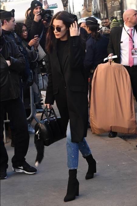 cashmere coat bella black