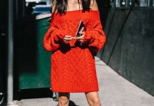jumper dress all red everything