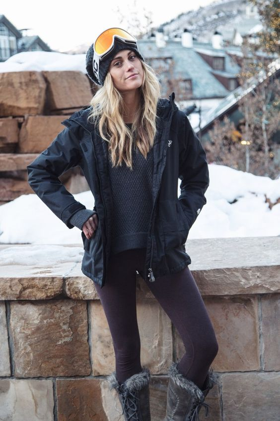 ski pants leggings instead