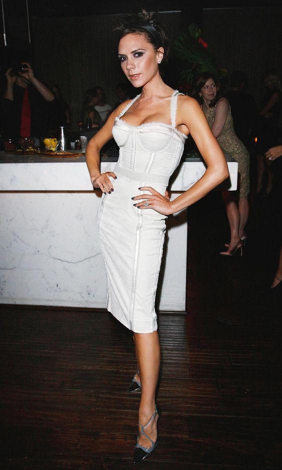 white corset dress classy
