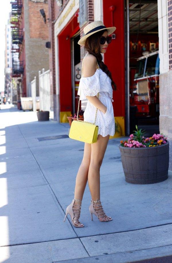best lace romper outfit ideas