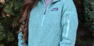 best fleece sweater outfit ideas