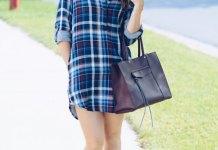 best flannel shirt dress outfit ideas