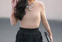 best feather skirt outfit ideas