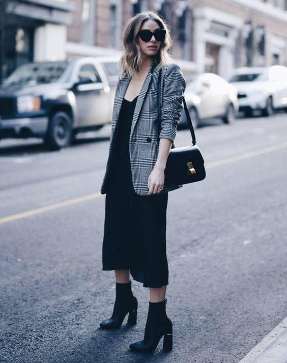 leather shoulder bag plaid