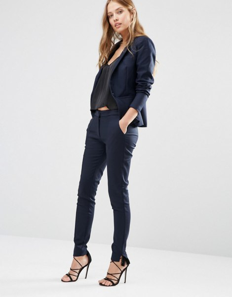 15 Super Chic Skinny Dress Pants Outfit Ideas For Women