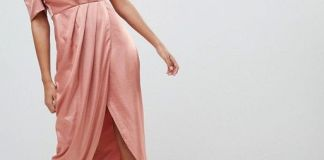 one shoulder maxi dress satin