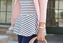 best peplum blouse outfit ideas for women
