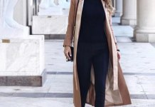 best maxi coat outfit ideas for women