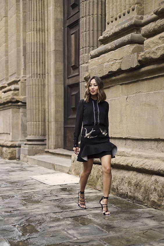 black lace up heels black aimee