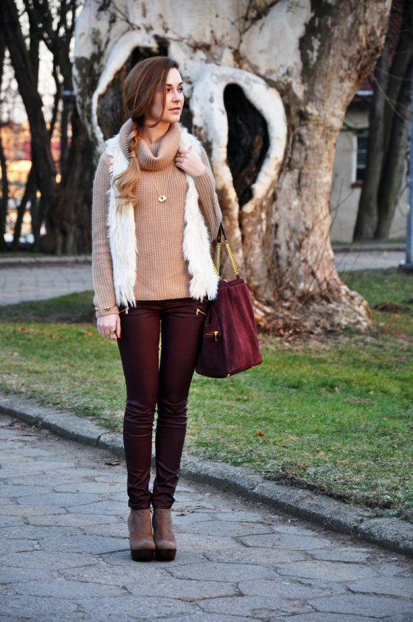 best coated jeans outfit ideas for women