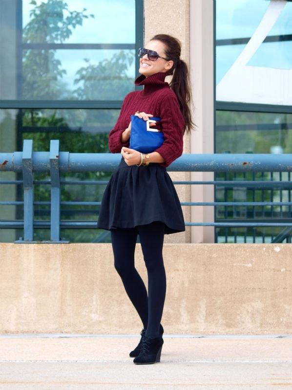 How to Wear Black Wedge Booties: 15